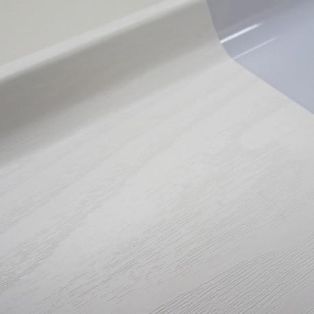 Autocolant mobila furnir Pin alb mat 45 cm
