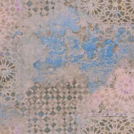 Tapet oriental mozaic bleu-bej