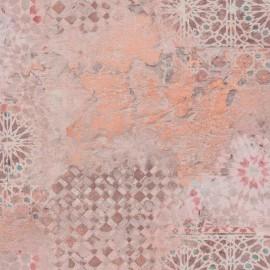 Tapet oriental mozaic maro-portocaliu