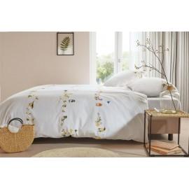 Lenjerie pat cu pasari cantatoare