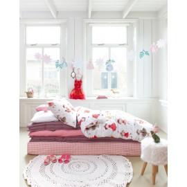 Lenjerie de pat fetite cu printese