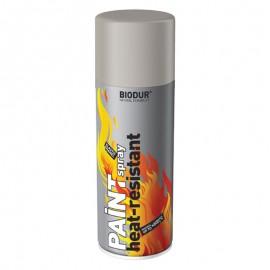 Vopsea etriere spray Biodur argintiu