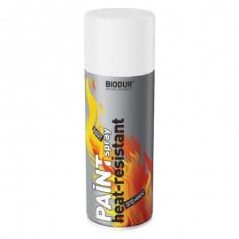 Vopsea rezistenta la temperatura spray alb