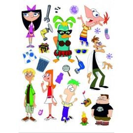 Stickere Phineas and Ferb pentru perete camera copii