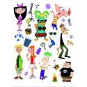 Stickere Phineas si Ferb pentru perete camera copii