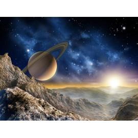 Fototapet cosmos Saturn