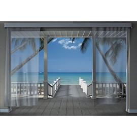 Fototapet Plaja caraibiana