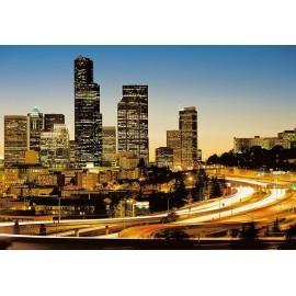 Fototapet urban City Lights