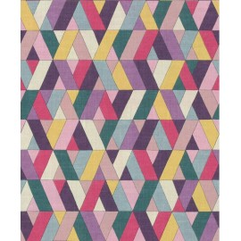 Tapet geometric Barbara Home multicolor