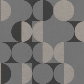 Tapet geometric retro disco