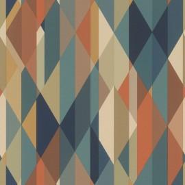 Tapet geometric Zoya multicolor