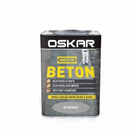 Vopsea Oskar Direct pe Beton gri antracit 0.75L