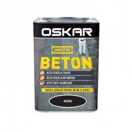Vopsea Oskar Direct pe Beton negru 0.75L