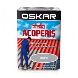 Vopsea Oskar Direct Pe Acoperis - argintiu 0.75L