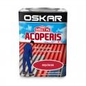 Vopsea Oskar Direct Pe Acoperis - rosu inchis 0.75L