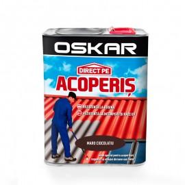 Vopsea Oskar Direct Pe Acoperis - maro ciocolatiu 2.5L
