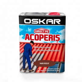 Vopsea Oskar Direct Pe Acoperis - maro roscat 2.5L