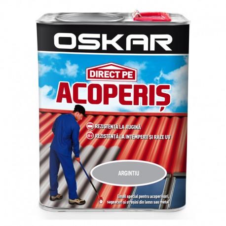 Vopsea Oskar Direct Pe Acoperis - argintiu 2.5L