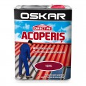 Vopsea Oskar Direct Pe Acoperis - visiniu 2.5L