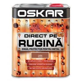 Vopsea Oskar Direct pe Rugina Cupru Metalizat 2.5l