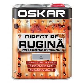 Vopsea Oskar Direct pe Rugina Gri lucios 2.5l