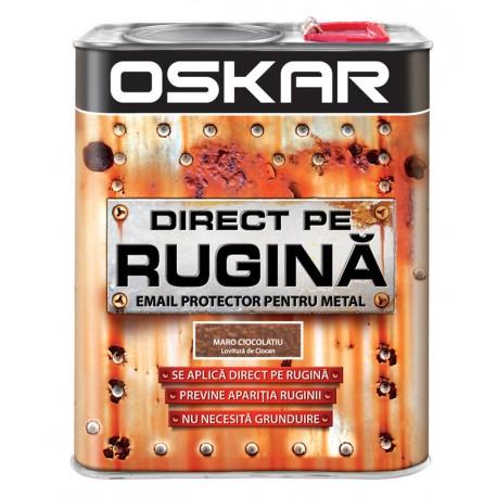 Vopsea Oskar Direct pe Rugina Maro Ciocolatiu Lovitura de Ciocan 2.5l