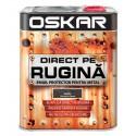 Vopsea Oskar Direct pe Rugina Negru Lovitura de Ciocan 2.5l