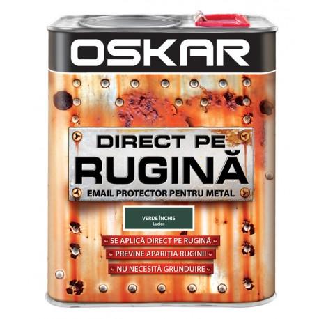 Vopsea Oskar Direct pe Rugina Verde Inchis Lucios 2.5l