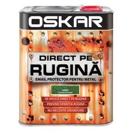 Vopsea Oskar Direct pe Rugina Verde Inchis Lovitura de Ciocan 2.5l