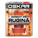 Vopsea Oskar Direct pe Rugina Maro Roscat Lucios 2.5l