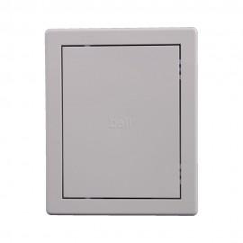 Usita de vizitare alba PVC 15x20 cm