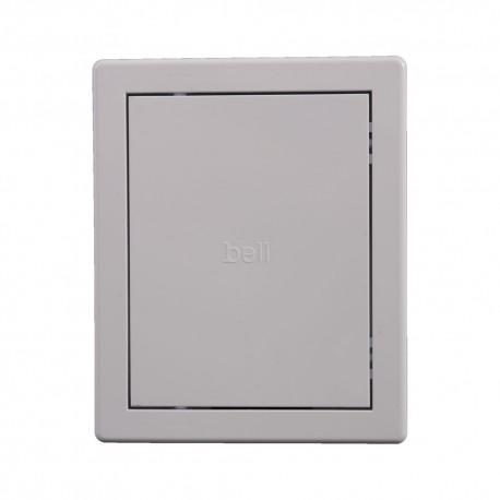 Usita de vizitare alba PVC 15x20cm