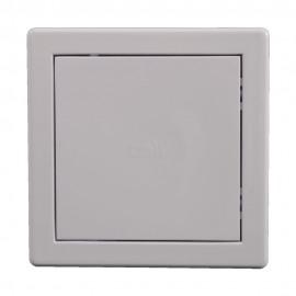 Usita de vizitare alba PVC 20x20 cm