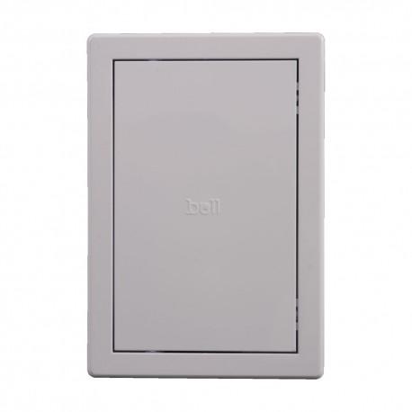 Usita de vizitare alba PVC 20x30cm