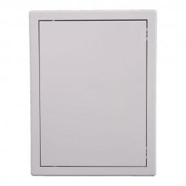 Usita de vizitare alba PVC 30x40cm