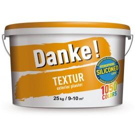 Tencuiala decorativa Danke Textur baza alba