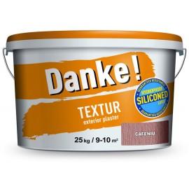 Tencuiala decorativa Danke Textur Cafeniu