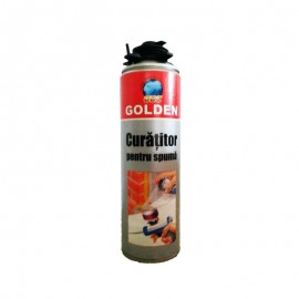 Spray curatitor Golden pentru spuma poliuretanica 500ml