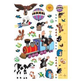Stickere Cartita cu trenuletul pentru perete camera copii
