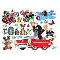 Stickere Cartita si masinutele pentru perete camera copii