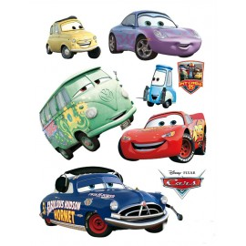 Stickere Cars 2 pentru perete camera copii