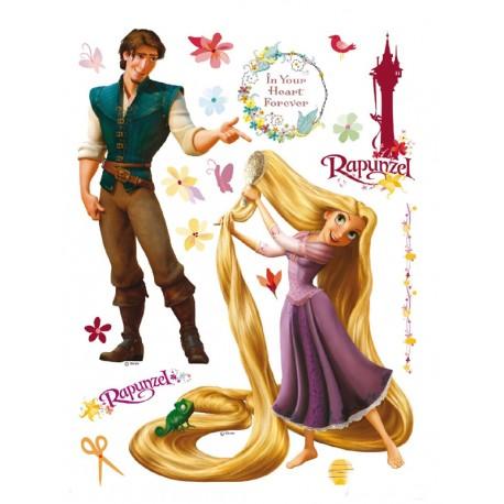 Sticker Rapunzel pentru perete camera copii