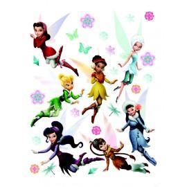 Stickere Fairies 3 pentru perete camera copii