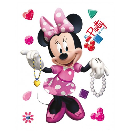 Sticker Minnie Mouse pentru perete camera copii
