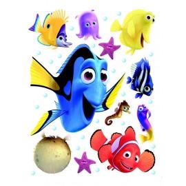 Stickere Finding Nemo pentru perete camera copii
