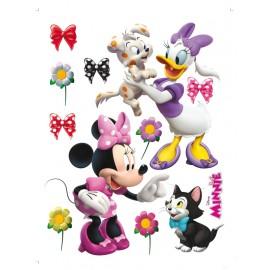Stickere Minnie si Daisy 2 pentru perete camera copii