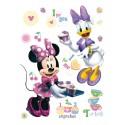 Stickere Minnie si Daisy pentru perete camera copii