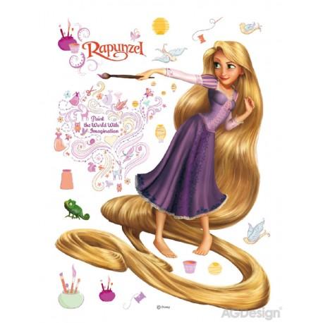 Sticker Rapunzel 2 pentru perete camera copii