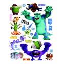 Stickere perete Walt Disney - Monsters