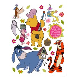 Stickere Winnie the Pooh 3 pentru perete camera copii